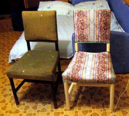 Реставрация кресла своим руками